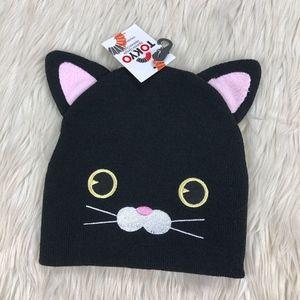 NWT Tokyo Black Cat Beanie With Ears